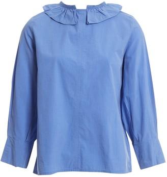 Atlantique Ascoli Blue Cotton Tops