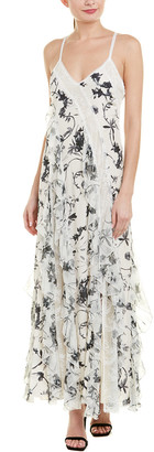 Alice + Olivia Jayda Silk Maxi Dress