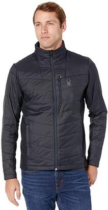 Spyder Glissade Hybrid Insulator Jacket (Black) Men's Coat