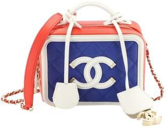 Chanel Vanity Multicolour Leather Handbags