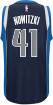 adidas Men's Dirk Nowitzki Dallas Mavericks Swingman Jersey