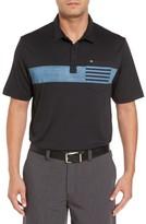 Travis Mathew Men's Russ Chest Stripe Pocket Polo