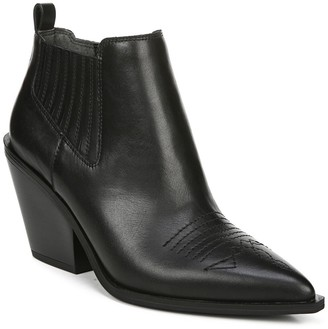 Franco Sarto Cavallarie Leather Bootie