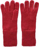 Joe Fresh Women's Ribbed Cuff Gloves, Black (Size O/S)