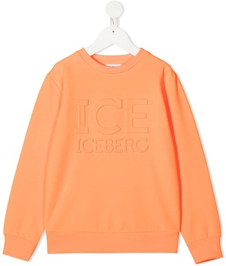 Iceberg Kids Embossed Logo Sweatshirt