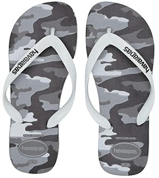 Havaianas Top Camo Sandal (Beige/Black) Men's Sandals