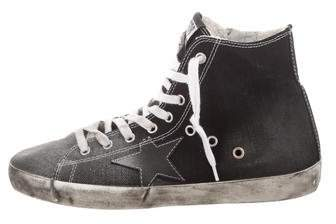 Golden Goose Archive High-Top Sneakers w/ Tags