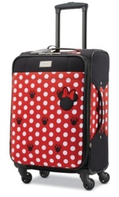 """American Tourister Disney by Minnie Mouse Dots 20"""" Carry-On Spinner"""