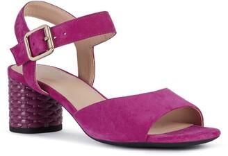 Geox Ortensia Block Heel Sandal