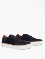 Number 288 Navy Grand Ii Low Basketball Sneakers