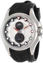 Invicta Men's 12337 S1 Rally GMT Stainless Steel Watch with Black Polyurethane Strap