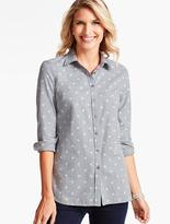 Talbots The Classic Casual Shirt-Playful Dots
