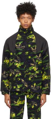 adidas Multicolor Polar Fleece Big Trefoil Track Jacket
