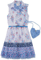 Knitworks Knit Works Sleeveless Shirt Dress - Preschool Girls