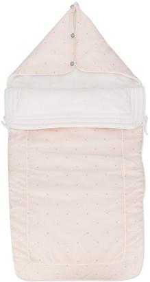 Lanvin Enfant JL maze print padded sleep bag