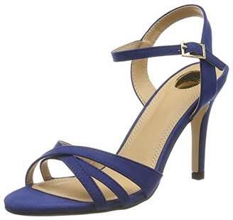 Buffalo David Bitton Shoes 312703 IMI SUEDE, Women's Ankle Strap Sandals, Beige (Nude 01), 5 UK (38 EU)