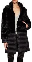 Dawn Levy Talolla Fur Puffer Coat