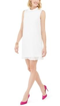 Connected Petite Trapeze Dress
