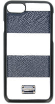 Dolce & Gabbana block stripe iPhone 7 case - women - Leather - One Size