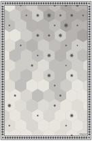 Thumbnail for your product : PODEVACHE - Hexagonal Tiles Vinyl Floor Mat - Grey - 99x150cm