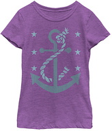 Fifth Sun Purple Berry Anchor Stitch Tee - Toddler & Girls