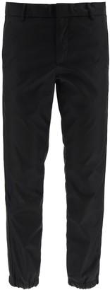 Prada Logo Elasticated Cuff Trousers