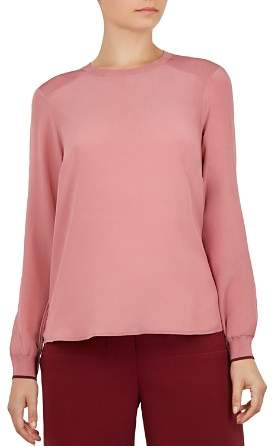 Ted Baker Colour by Numbers Llilyy Silk Top
