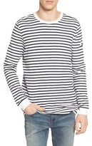 G Star Men's Dhover Waffle Knit Stripe T-Shirt