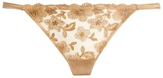 Myla Metallic Floral Briefs