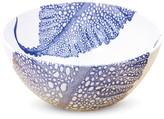 Caskata Sea Fan Bowl - White/Blue