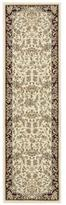 Kathy Ireland Antiquities Timeless Elegance Ivory Area Rug by Nourison (2'2 x 7'6)