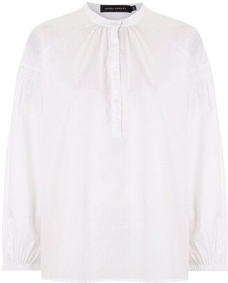 Andrea Marques Ranglan Sleeves Blouse