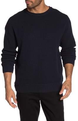 Weatherproof Vintage Crew Neck Long Sleeve Knit Sweater