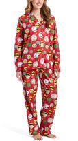 Briefly Stated Peanuts Character Circles Pajama Set - Women