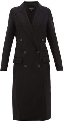 Ann Demeulemeester Double-faced Wool-blend Coat - Womens - Black