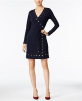 MICHAEL Michael Kors Studded Wrap Dress