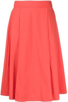 Peserico A-line midi skirt