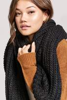 Forever 21 Chunky Ribbed Oblong Scarf