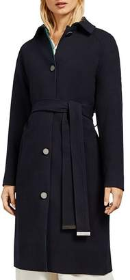 Ted Baker Taynie Single-Breasted Belted Coat