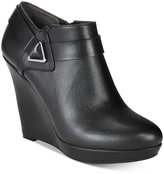 Bar III Tiger Wedge Dress Booties, Only at Macy's