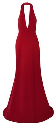Reem Acra Cady Halterneck Gown