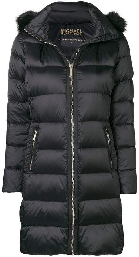 MICHAEL Michael Kors padded mid-length coat