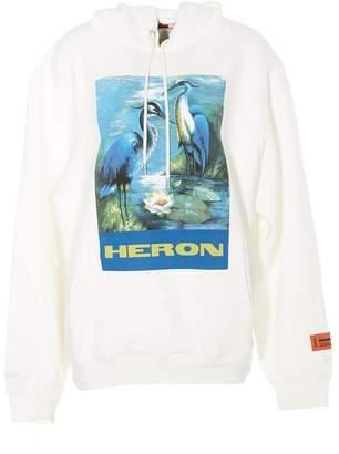 Heron Preston Bird Graphic Logo Hoodie