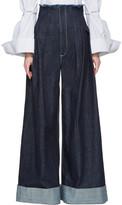 Jacquemus Navy le Pantalon De Nimes Jeans