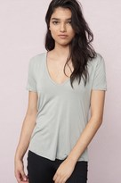 Garage Deep V Relaxed Tee