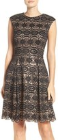 Vince Camuto Sequin & Lace Party Dress
