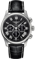 Longines L2.693.4.51.7 Master Collection black chronograph watch