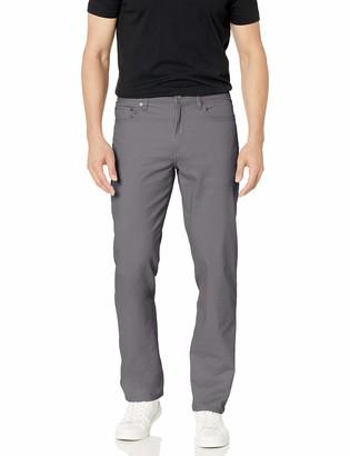 Amazon Essentials Men's Big & Tall Straight-Fit 5-Pocket Stretch Twill Pant fit by DXL