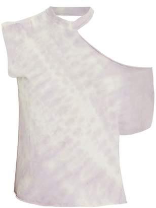 RtA Axel Cut-Out Tie Dye T-Shirt