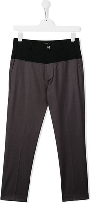 No21 Kids Two-Tone Trousers